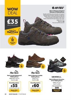 Offers of Merrell in GO Outdoors