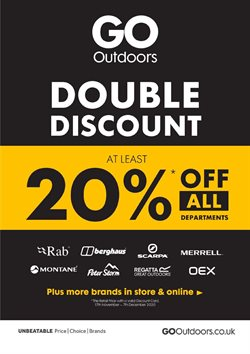 GO Outdoors catalogue ( 10 days left )
