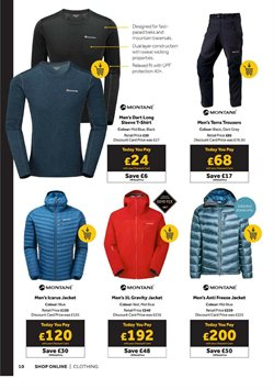 Offers of Helly Hansen in GO Outdoors
