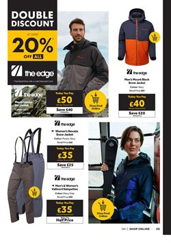Offers of Ski jacket in GO Outdoors