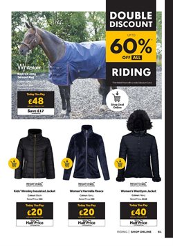 Offers of Regatta in GO Outdoors