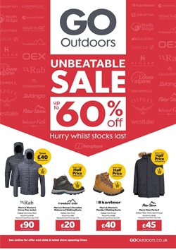 GO Outdoors catalogue ( Expired )