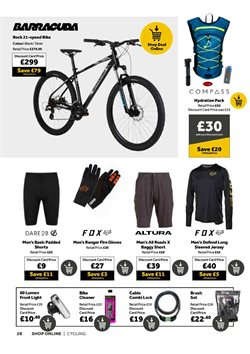 Offers of Bike in GO Outdoors