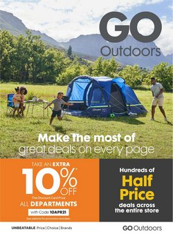 GO Outdoors catalogue ( 3 days ago )