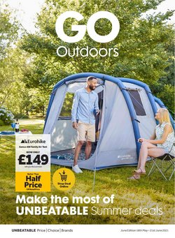 Sales offers in the GO Outdoors catalogue ( 4 days left)