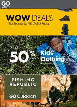 GO Outdoors offers in the GO Outdoors catalogue ( Expired)