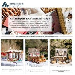 Clearwater Hampers offers in the Clearwater Hampers catalogue ( 15 days left)