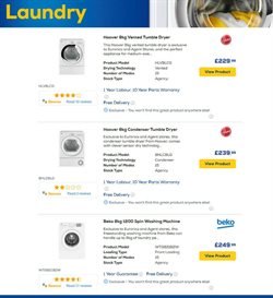 Washing machine offers in the Euronics catalogue in London