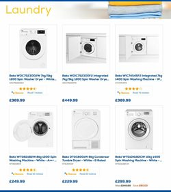 Washing machine offers in the Euronics catalogue in Royal Leamington Spa