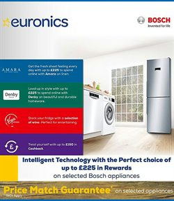Electronics offers in the Euronics catalogue in Cannock