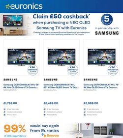 Samsung offers in the Euronics catalogue ( 7 days left)