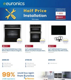 Electronics offers in the Euronics catalogue ( Expires today)