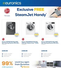 Electronics offers in the Euronics catalogue ( 8 days left)