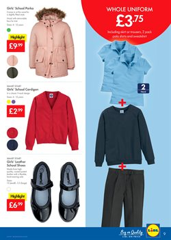 Shoes offers in the Lidl catalogue in London