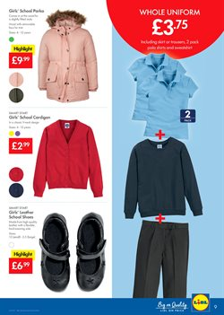 Shoes offers in the Lidl catalogue in Manchester