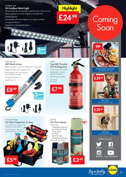Lamp offers in the Lidl catalogue in Liverpool