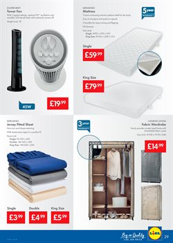 Mattress offers in the Lidl catalogue in London