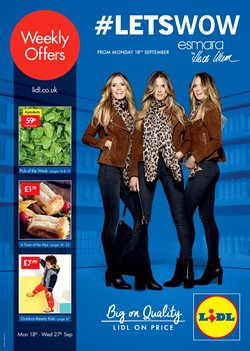 Lidl offers in the Manchester catalogue