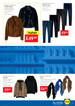Jacket offers in the Lidl catalogue in London
