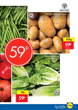 Potatoes offers in the Lidl catalogue in London