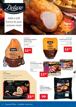 Christmas offers in the Lidl catalogue in London