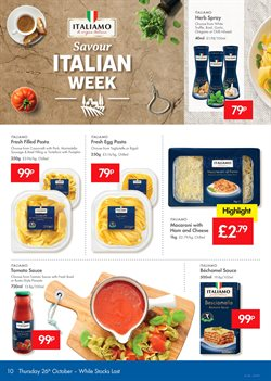 Pasta offers in the Lidl catalogue in London