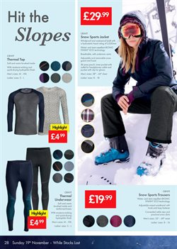 Women's clothing offers in the Lidl catalogue in London