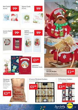 Christmas decoration offers in the Lidl catalogue in Runcorn