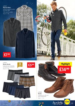 Espadrilles offers in the Lidl catalogue in London