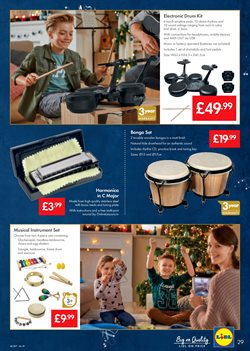 Storage media offers in the Lidl catalogue in London
