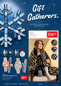 Christmas decoration offers in the Lidl catalogue in London