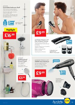 Head offers in the Lidl catalogue in London