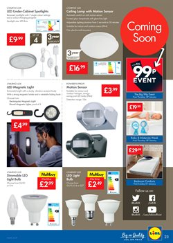 Lamp offers in the Lidl catalogue in Barking-Dagenham