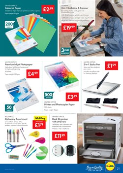Printer offers in the Lidl catalogue in London