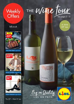 Supermarkets offers in the Lidl catalogue in Rhondda