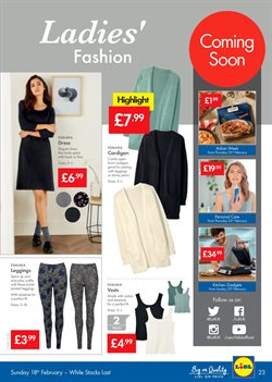 Dress offers in the Lidl catalogue in Hackney