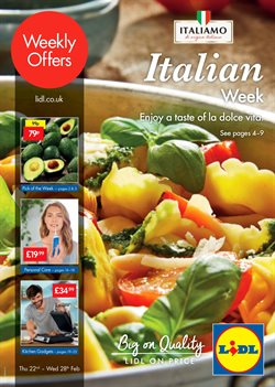 Sales offers in the Lidl catalogue in Reading