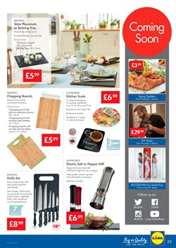 Sales offers in the Lidl catalogue in Liverpool