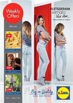 Supermarkets offers in the Lidl catalogue in Worthing