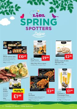 Frozen offers in the Lidl catalogue in London