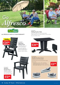 Chairs offers in the Lidl catalogue in London