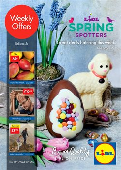 Lidl offers in the Sheffield catalogue