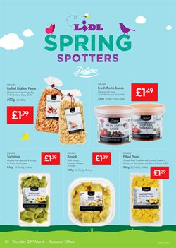 Pasta offers in the Lidl catalogue in Barking-Dagenham
