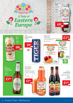 Dairy offers in the Lidl catalogue in London