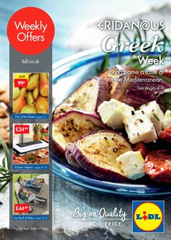 Kitchen offers in the Lidl catalogue in London