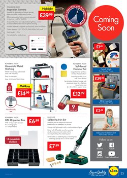 Tools offers in the Lidl catalogue in Oxford