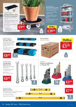 Furniture offers in the Lidl catalogue in London