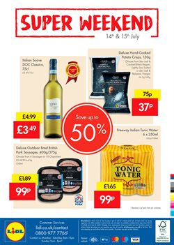 Food offers in the Lidl catalogue in London