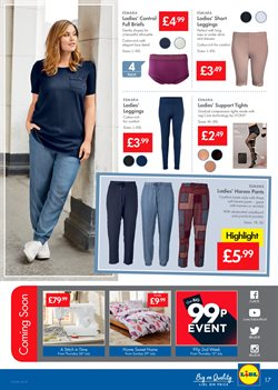 Sandals offers in the Lidl catalogue in London