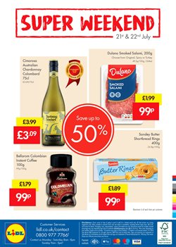 Wine offers in the Lidl catalogue in London